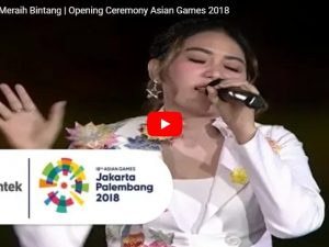 lagu asian games meraih bintang via valen